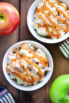 Caramel Apple Pretzel Salad Recipe - With candied pretzelsI I might leave out the pecans, though.