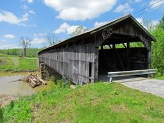 Covered Bridges in Kentucky - Travel Photos by Galen R Frysinger, Sheboygan, Wisconsin My husbands name is Kurt