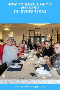 Whether it's old military buddy's, old college friends or bachelor party a guy's weekend can be just what the doctored ordered. Usa Travel, Travel Tips, Cooking Over Fire, Irving Texas, Visit Texas, Packing For Europe, United States Travel, Best Cities, Travel Images