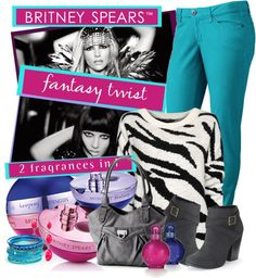 """""""Day to Night Fashion with Britney Spears™ fantasy twist"""" by rachel ❤ liked on Polyvore"""