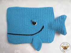 Wildmoths Handcrafted Creations: Hot Water Bottle Whale