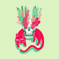 design image for Cat Skull Garden