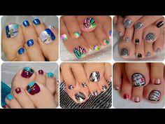 Choose which Pedi you want IG: FB Page: /decournails (lovenailart) decournails nailartdesign nailartinspiration nailart naildesigns nailstyle nailartist pedicure pedinailart Toenail Art Designs, Pedicure Designs, Toe Nail Art, Easy Nail Art, French Tip Nail Art, Animal Nail Art, Summer Toe Nails, Nail Art Videos, Nail Artist