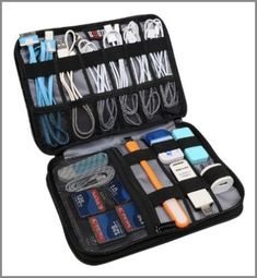 Travel Gear Organizer - one of the best travel gifts for travelers