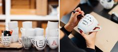Mug Making Party: If you are one of those peeps that needs your coffee in the morning (aren't we all?), your gal pals will love decorating their own, personalized mug. Complete the event by sitting around a cozy fireplace with some hot cocoa in hand