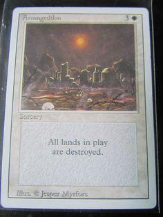 MTG: MAGIC THE GATHERING, REVISED (3RD)EDITION - ARMAGEDDON - NM!
