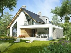 Architecture Discover Photo of the project Aristotle House Design Modern Bungalow Exterior Modern Bungalow House Modern Farmhouse Exterior Dream House Exterior Modern House Plans Small House Plans Modern House Design Modern Craftsman Craftsman Houses Modern Bungalow Exterior, Dream House Exterior, Modern Craftsman, Modern Farmhouse, House Games, Patio Interior, Facade House, House Facades, House Exteriors