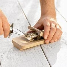 Dubost Oyster Knife Set | Sur La Table