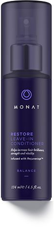 A nourishing leave-in conditioner designed to revive each strand using the same proven ingredients and technologies as MONAT Renew Hydrating Shampoo and Masque. Helps restore lost essential nutrients to the scalp, boost natural hair growth and improve follicle strength to reduce hair thinning. Fragile hair is left silky, youthful and supple. Frizz and flyyaways are tamed. www.hairbymonat.com $33/$28/$23