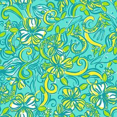 "Lilly Pulitzer ""Delta Delta Delta"" print. Picture Yourself in Paradise at www.floridanest.com"