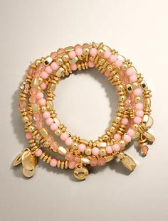 Talbots - Multi-Strand Stretch Bangles | Jewelry |