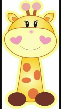 trendy Ideas for baby shower decoracion jirafas Clipart Baby, Quilt Baby, Baby Shower Niño, Cute Giraffe, Art Drawings For Kids, Baby Art, Baby Shower Decorations, Cute Cartoon, Baby Animals