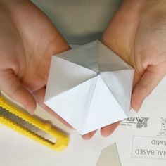 Making a Hexagonal shape out of paper, and animating it in Product Design, Students, Public, College, Animation, Shapes, Building, Cards, How To Make