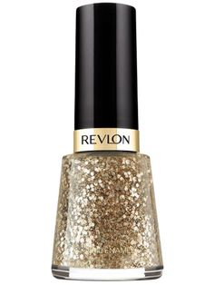 10 Best Sparkly Nail Polishes for Holiday Festivities: Nail Enamel in Sequins, $4.99, Revlon.