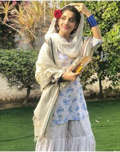 Mawra as aaliya in the upcoming drama Aangan