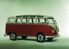 "Fototapete ""VW Bulli 04"" Volkswagen, Architects Paper"