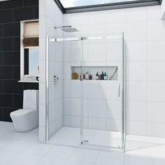 See our Infiniti 8mm sliding shower enclosure  plus many more Rectangle shower enclosures at VictoriaPlum.com. Plus 365…