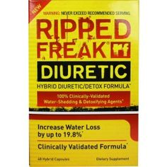 Delivers the clinically proven dosage of the two most effective diuretic ingredients available!  Can increase water loss by 19.8% in 24 hours! Delivers the MOST POTENT form of the two most effective diuretic ingredients available! Delivers standardized herbs that supply the active chemicals actually responsible for increasing water loss and detoxification.