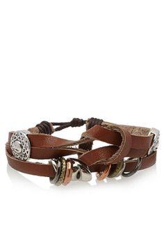 Fifteen Minutes wrap bracelet, available via www.namshi.com now! #mensaccessories #casual #fashion #stylish