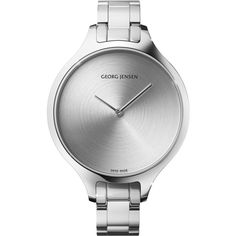 Nicolas Barth Nussbaumer CONCAVE - 39 mm, Quartz, sunray dial, steel... ($1,400) ❤ liked on Polyvore featuring jewelry, watches, crown bracelet, bracelet watches, womens jewellery, blue dial watches e tw steel watches