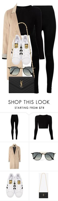 """Style #11759"" by vany-alvarado ❤ liked on Polyvore featuring Wolford, Cushnie Et Ochs, mel, Ray-Ban, adidas Originals and Yves Saint Laurent"