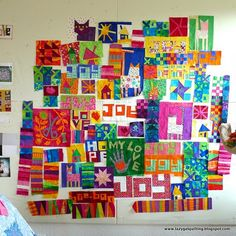 Love Tonya Ricucci's quilts.... and she's on Pinterest too... worth following!