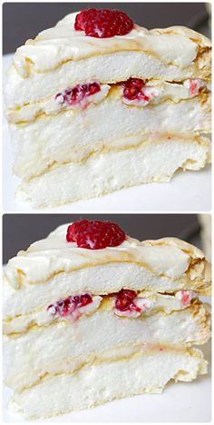 Easy Cake Decorating, Different Cakes, Russian Recipes, Pavlova, Creative Cakes, Desert Recipes, Easy Desserts, Cake Recipes, Sweet Treats