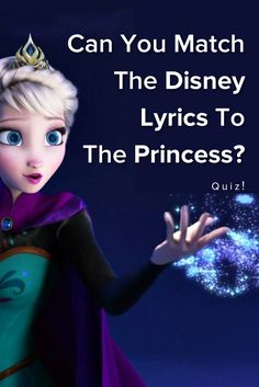 Can You Match The Lyrics Of The Disney Song To The Princess Who Sang It? Take this quiz and find out today!