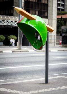 Phone Booth in São Paulo. S)
