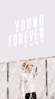 wallpaper Bts HD Young forever