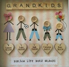 Of July Crafts For Kids To Make - Easy Crafts Ideas DIY - Recycled Crafts Decoration - Cardboard Crafts Decoration - Harry Potter Crafts For Kids Sweets Cute Crafts, Crafts To Make, Easy Crafts, Crafts For Kids, Scrabble Tile Crafts, Scrabble Art, Marco Scrabble, Homemade Gifts, Diy Gifts