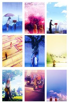 Byôsoku 5 senchimêtoru/Five Centimeters per Second.  One of the most beautiful movies I've ever seen. Originally posted from www.la-romanesca.tumblr.com