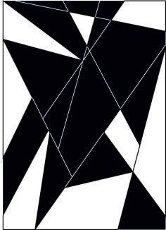 se trata de una imagen en la que predominan el blanco y el negro,me resulto fácil y tarde relativamente poco tiempo.