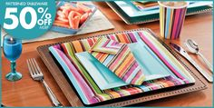 Stripe Style Party Supplies - Party City