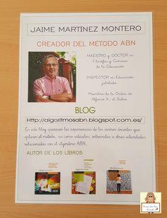 """Con motivo de la visita de Teresa Simonet, el pasado 8 de Mayo, en mi colegio E.I """"El Faro"""" quisimos crear un ambiente ABN para la charla d..."""