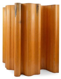Alvar Aalto 1898-1976  ROOM SCREEN  Lacquered pine-tree. Height 2 m, length 5 m