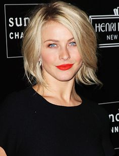 Loving these Poppy Red lips on Julianne Hough - Can't wait for spring