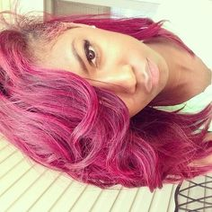 The color I'm going to dye my hair once it grows out.