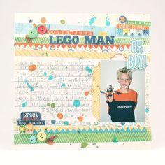 Lego Man Layout