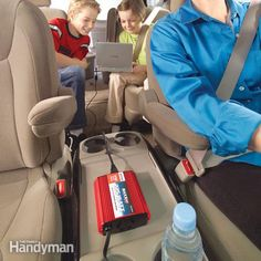 Travel, camping, or emergencies. Power inverters allow you to run low power AC electrical devices like computers, video cams and even TVs in your car. We tell you your options and how they work. Bug Out Vehicle, Thing 1, Disaster Preparedness, Alternative Energy, Survival Tips, Survival Mode, Camping Hacks, Just In Case, Laptop