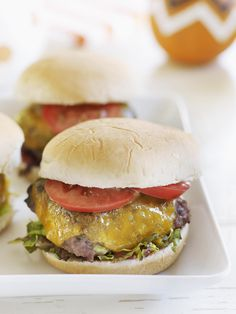 Mini Burger #myplate #beef #summer #party