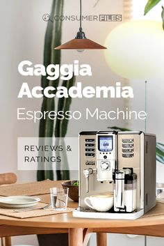 In this review, we'll take a detailed look at its features and overall functionality to see if the #GaggiaAccademia is the right #coffeemachine for you.  via @consumerfiles Coffee Magazine, Espresso Machine, Espresso Coffee Machine, Espresso Maker