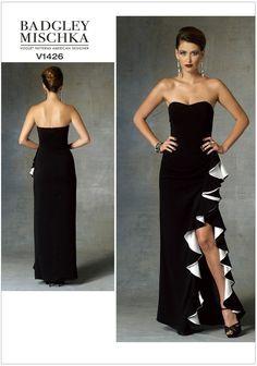 Misses Dress Vogue Pattern 1426