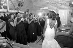 With Package E, the bride and her girls can spend the day getting ready in our Mississippi Cabin at The Falls. Photo courtesy of Gracie Photography.  Pierce Castle in Decatur, Mississippi--Mississippi's Premiere Wedding and Event Venue. PierceCastleMS.com  @PierceCastle  Facebook/PierceCastle