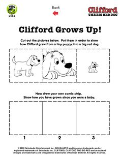Clifford . Printables . Clifford Activity Pages| PBS Kids