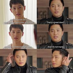 Descendants of the Sun Episode 14 || I love Yoo Si Jin and Seo Dae Young so damn much their bromance is the best!!