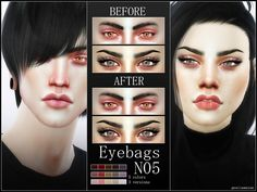 Concealer for your sims, comes in 5 tones (from light to dark), each color in 3 different transparency shades. Found in TSR Category 'Sims 4 Female Skin Details' Skin Care Regimen, Skin Care Tips, Sims 4 Cc Skin, Sims Cc, Wash Your Face, Good Skin, Makeup Brushes, Eye Makeup, The Balm