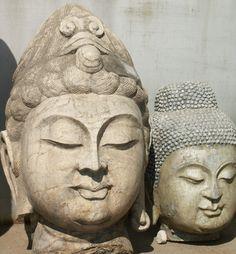 Chinese Buddha sculptures