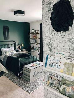 Affordable Bedroom Decor Ideas For Your Little Boys – Boy Room 2020 Boy Toddler Bedroom, Big Boy Bedrooms, Boys Bedroom Decor, Toddler Rooms, Girls Bedroom, Toddler Teepee, Toddler Girl, Boys Bedroom Wallpaper, Bedroom Furniture