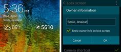 Samsung Galaxy S5  - Tips
